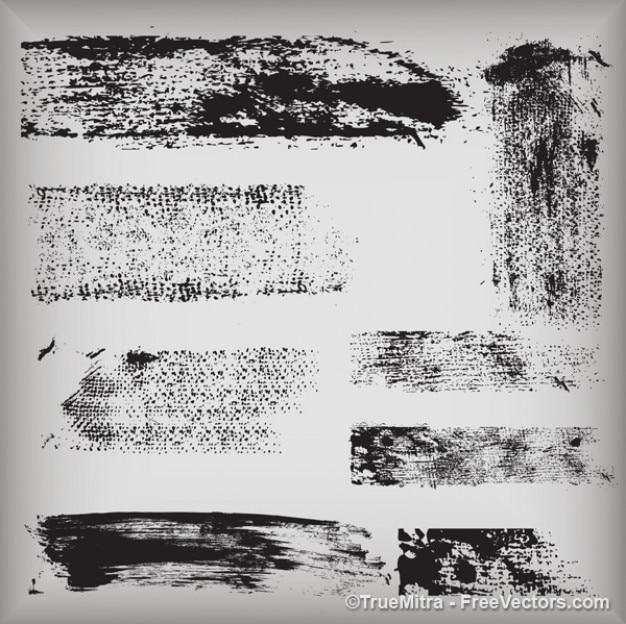 Dirty textures vector graphics
