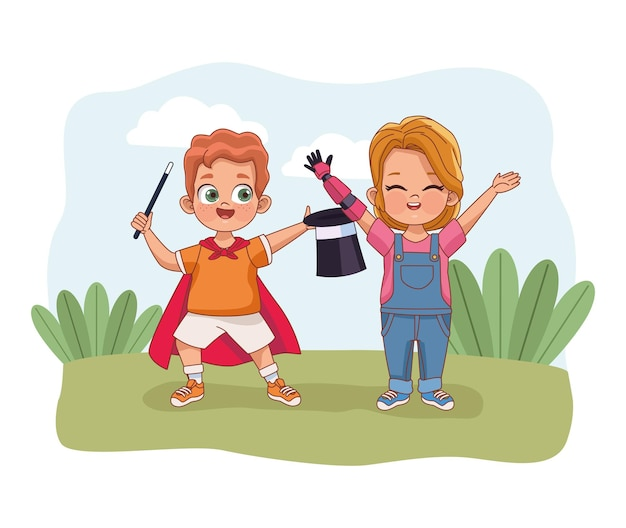 Дети с ограниченными возможностями пара персонажей