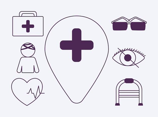 Значки доступности для людей с ограниченными возможностями
