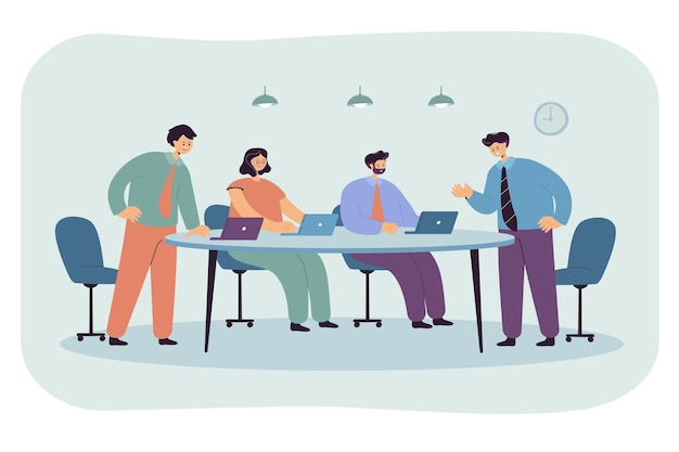 Disagreement between board of directors and office staff