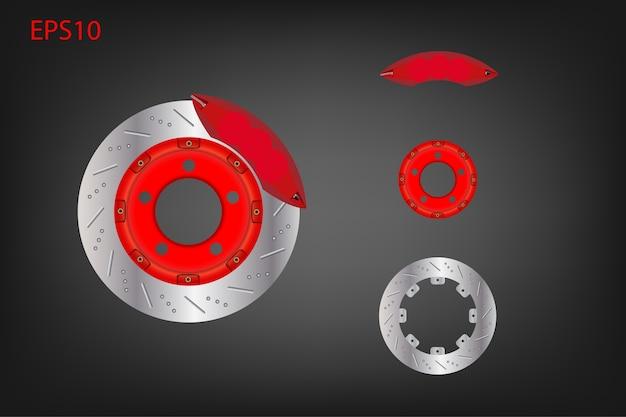 Disc brake and caliper system.