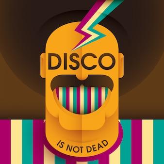 Иллюстрация диско