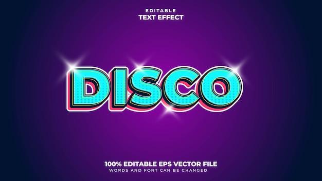 Disco text effect