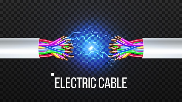 Disconnect electric cable