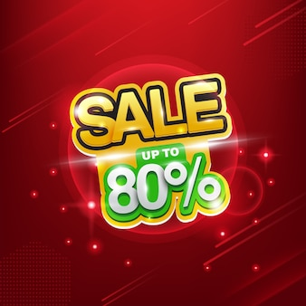 Discount background. sale up to 80%, giveaway.