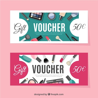 Discount banners of beauty
