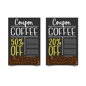 Discount coupon design