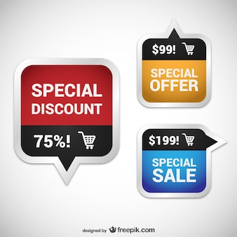 Discount coupons pack