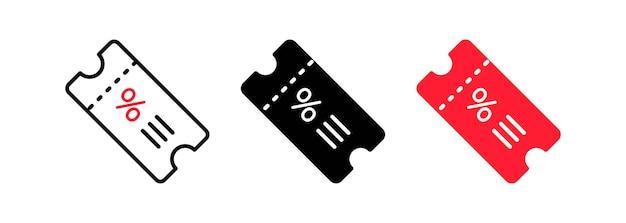 割引オファーセール値札アイコン。フラットラベル、クリアランスシンボル、特別取引クリアランスセールタグステッカー。孤立した白い背景の上のベクトル。 eps 10