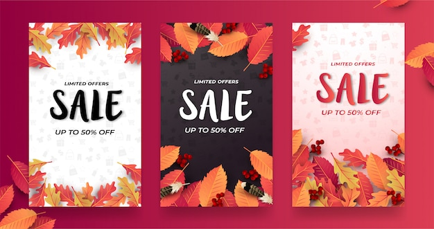 Discount sale banner template