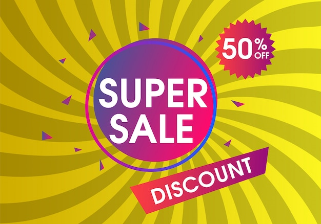 Discount sale design