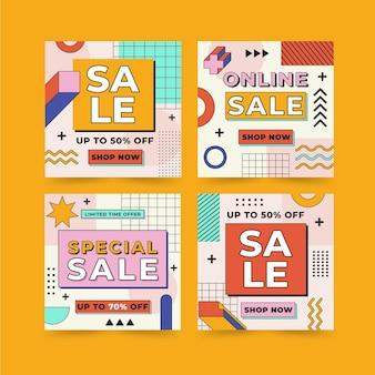 할인 판매 인스타그램 포스트 모음