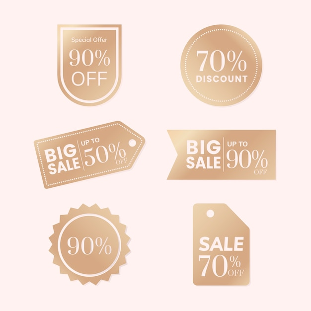 Discount tag collection