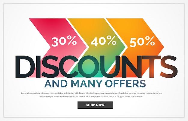 Discount voucher with details