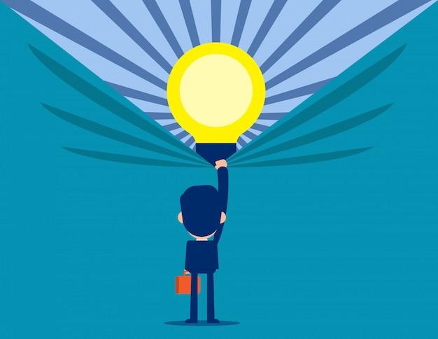 Откройте для себя лучшие идеи. бизнес творчество и идея концепции. Premium векторы