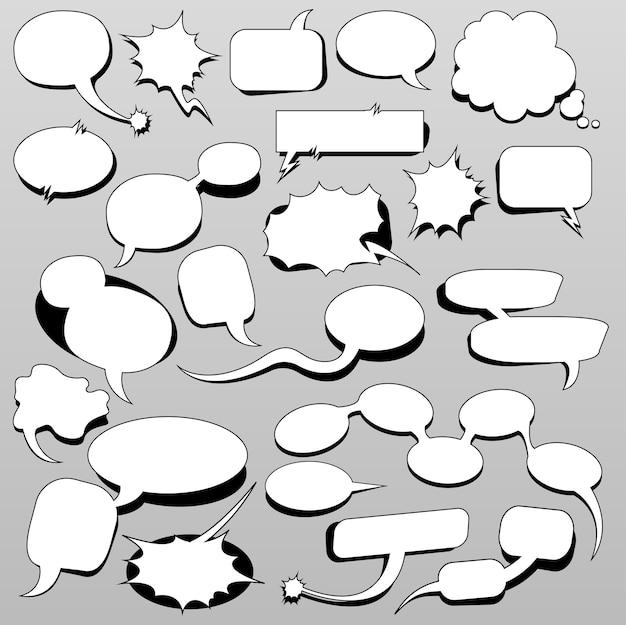 Обсудить речевые пузыри