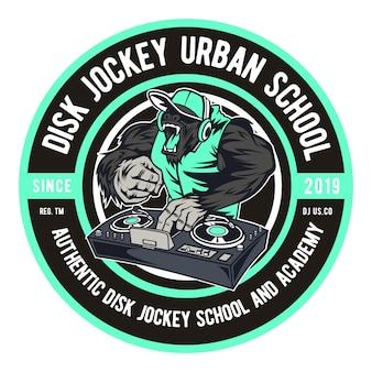 Disk jockey urban school