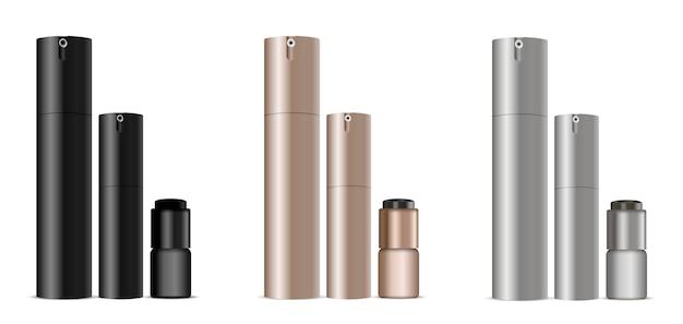 Dispenser bottles for deodorant, parfume, cream