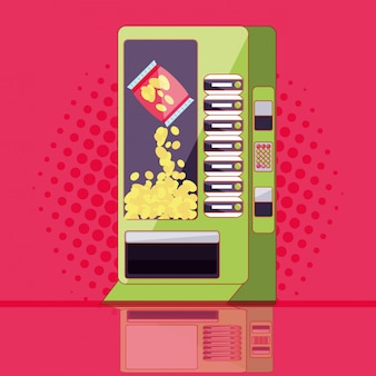 Dispenser of chips machine electronic