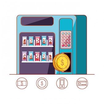 Диспенсер конфет машинный электронный