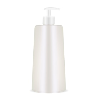 Dispenser shampoo bottle