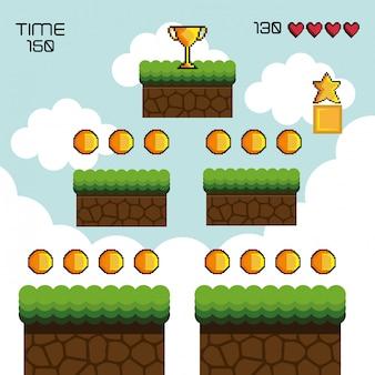Display game pixel