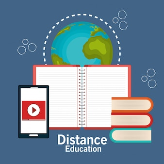 Distance education design