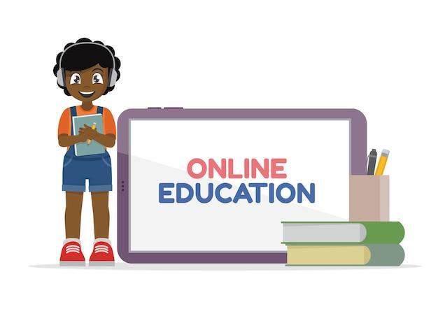원격 학습 온라인 교육 학생 온라인 교육