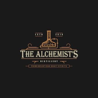 Distillery logo concept