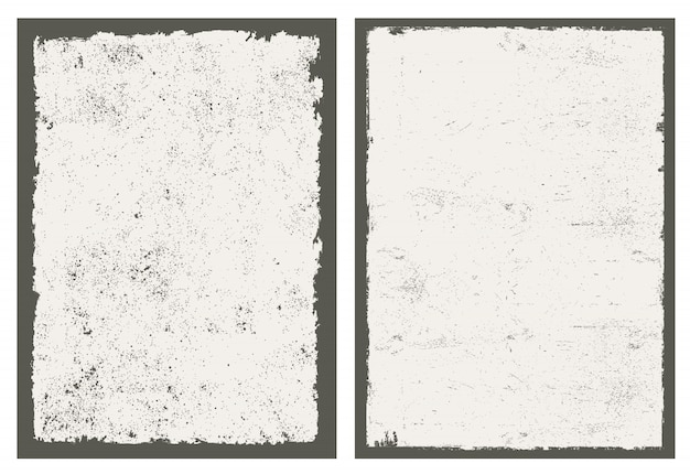 Distressed grunge backgrounds