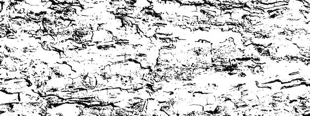 粗い表面、ひびの入った木、樹皮の苦しめられたオーバーレイテクスチャー。