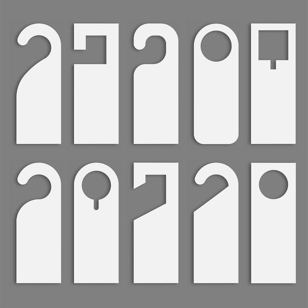 Do not disturb door hanger set.