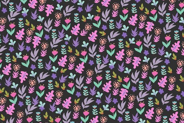 Ditsy floral design background