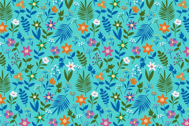 Ditsy floral print background