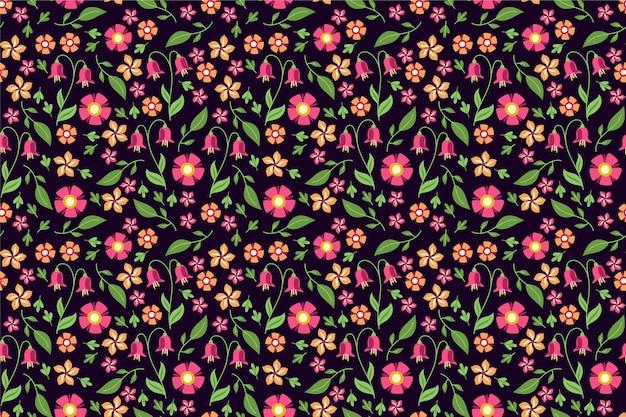 Ditsy floral print wallpaper