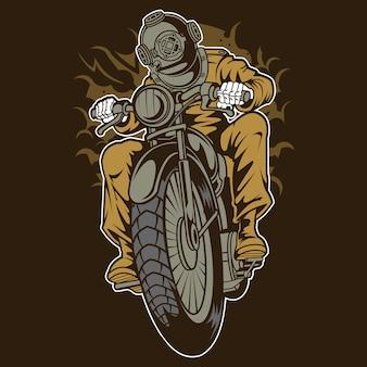 다이버 오토바이