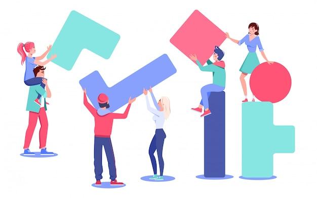 多様な人々のチームワークがコンストラクタのピースを組み立てる