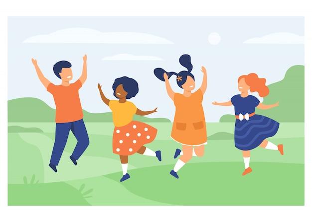 多様性と子供時代のコンセプト