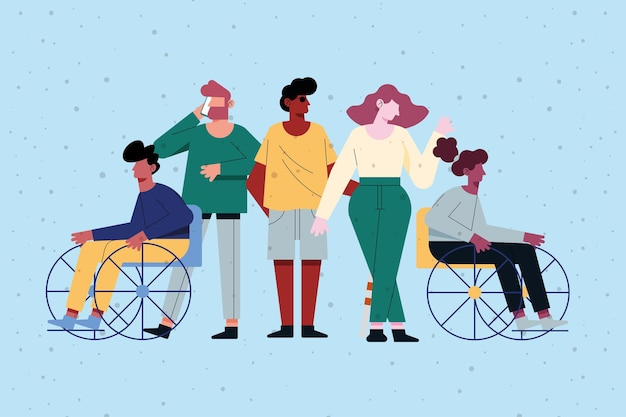 Diversity and disabled people