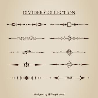 Коллекция разделов в стиле ручной работы