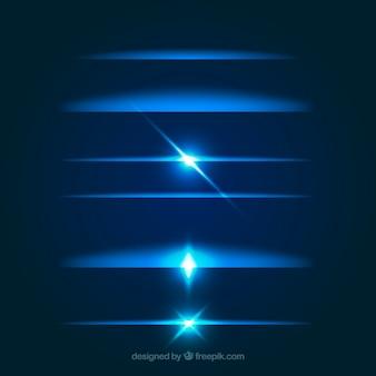 ライトエフェクトによるディバイダコレクション