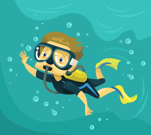 ダイビング。