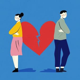 離婚のコンセプト
