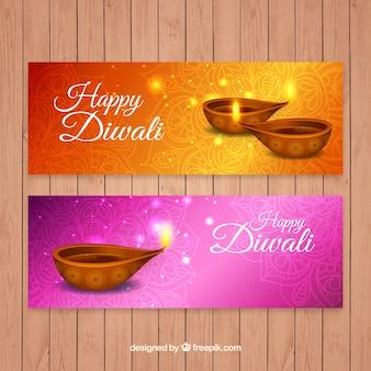 Accumulazione della bandiera diwali