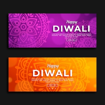 Bandiere di concetto di diwali