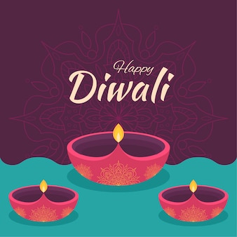 Diwali illustration