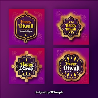 Diwali instagram post collection