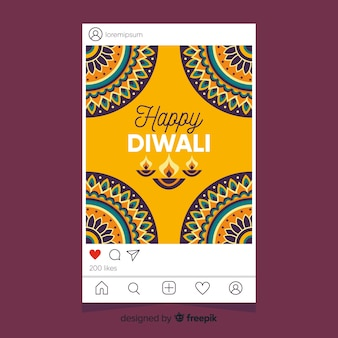 Diwali instagram stories and platform options
