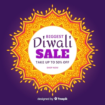Diwali sale background