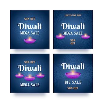 Diwali vendita instagram post collection
